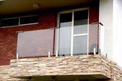阳台玻璃栏杆(地玻夹)