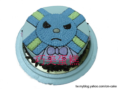 LOCK將造型蛋糕
