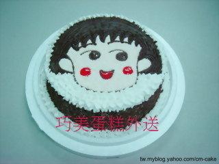 小丸子造型蛋糕-2