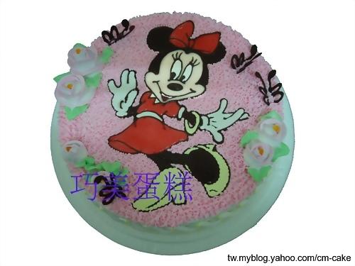 米妮(平面)造型蛋糕