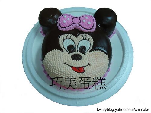 米妮(頭)造型蛋糕
