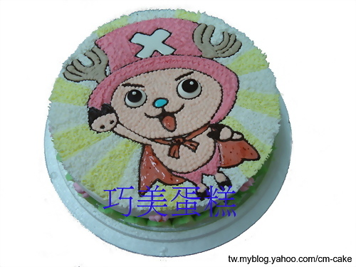 海賊喬巴飛天造型蛋糕