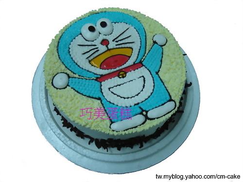 多啦A夢小叮噹(全身平面)造型蛋糕