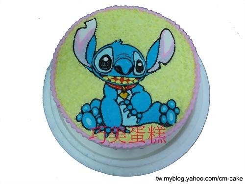 史迪奇造型蛋糕