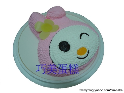 美樂蒂(頭)造型蛋糕