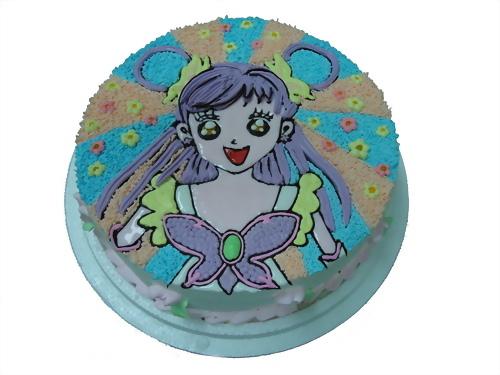 光之美少女造型蛋糕