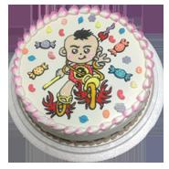 宗教保佑創意蛋糕