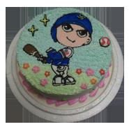 運動休閒造型蛋糕