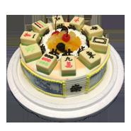 賭神風雲造型蛋糕