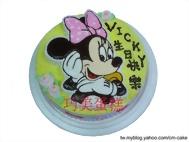 歡樂米妮(2D)造型蛋糕