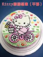 Kitty騎腳踏車(平面)