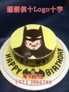 蝙蝠俠十Logo十寫字