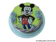 米老鼠造型蛋糕