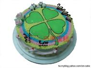 幸運草造型蛋糕