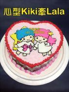心型KiKi牽LAlA