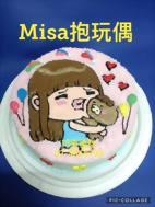 Misa 抱玩偶