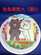 兔兔親熊大 (圖1)