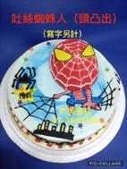 吐絲蜘蛛人 (頭凸出)