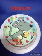 老鼠吃起司