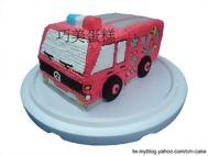 消防車造型蛋糕