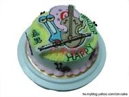 小蝸造型蛋糕