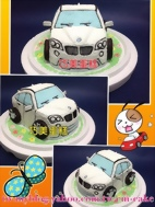 BMW X1汽車造型蛋糕