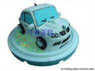 BMW(M3)造型蛋糕