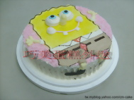 海綿寶寶造型蛋糕-2