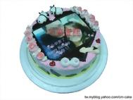 相片+情趣造型蛋糕