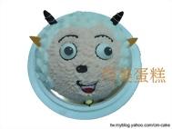 喜羊羊(頭)造型蛋糕