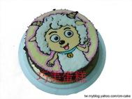喜羊羊造型蛋糕
