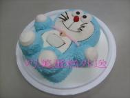 立體小叮噹造型蛋糕