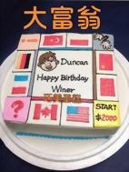 大富翁造型蛋糕