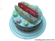 大腸包小腸造型蛋糕