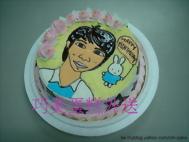 人物繪像蛋糕