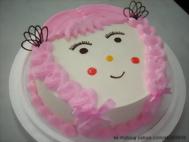 10吋女娃娃造型蛋糕