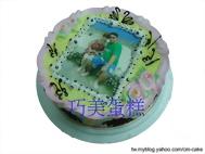 生日相片蛋糕
