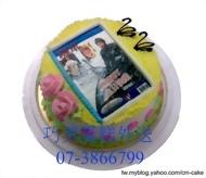 數位相片蛋糕