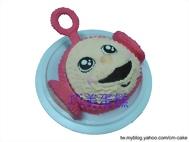 天線寶寶小波造型蛋糕