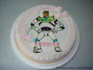 巴斯光年卡通蛋糕