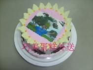 相片太陽花造型蛋糕