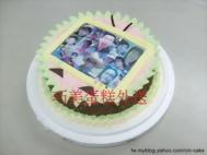相片造型蛋糕