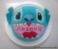 史迪奇(頭部)造型蛋糕