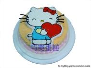愛的KITTY(2D)造型蛋糕
