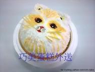 貓立體造型蛋糕