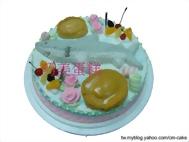 鯊魚+鮑魚造型蛋糕