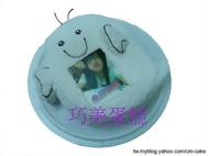 小鬼造型+相片蛋糕