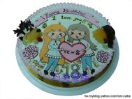 16吋客製化造型蛋糕