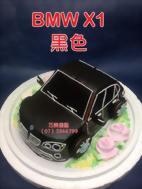 BMW X1黑色造型蛋糕