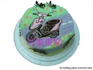 RS摩托車造型蛋糕